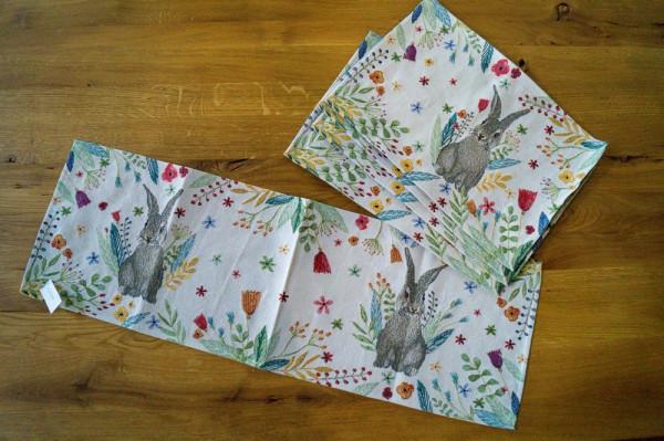 Happy Bunny-755 Läufer 32x96cm Fb_40-216600_3-1