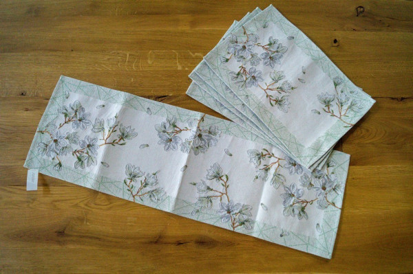 Magnolia Garden-604 Läufer 32x96cm Fb_16-216305_3-1